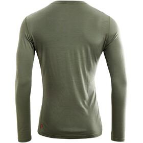 Aclima LightWool T-shirt à col ras-du-cou manches courtes Homme, ranger green
